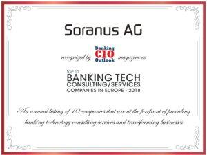 Zertifikat Banking CIO Soranus AG